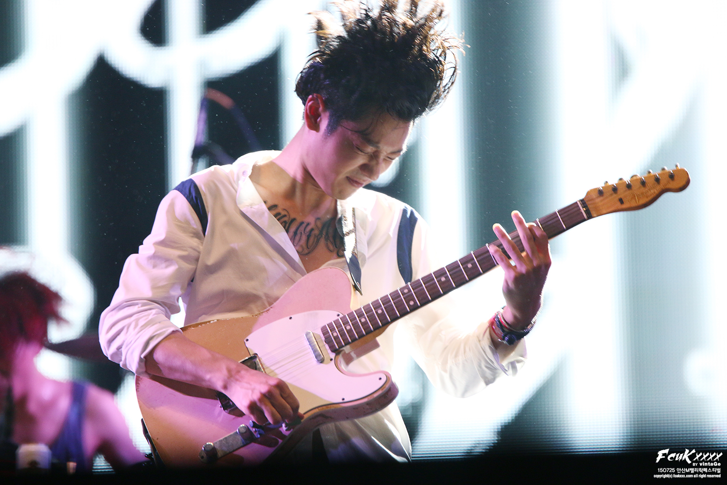 jung joon young at ansan valley rock festival july 2015