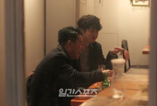 Jung joon young and kim jun ho in drunken talk