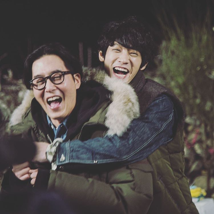 jung joon young with kim yu hyuk in 2 Days 1 Night 2015