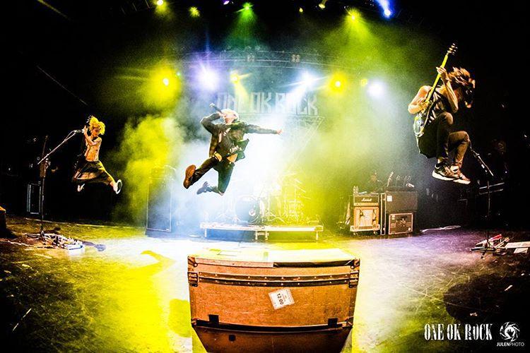 One Ok Rock in europe tour 2015