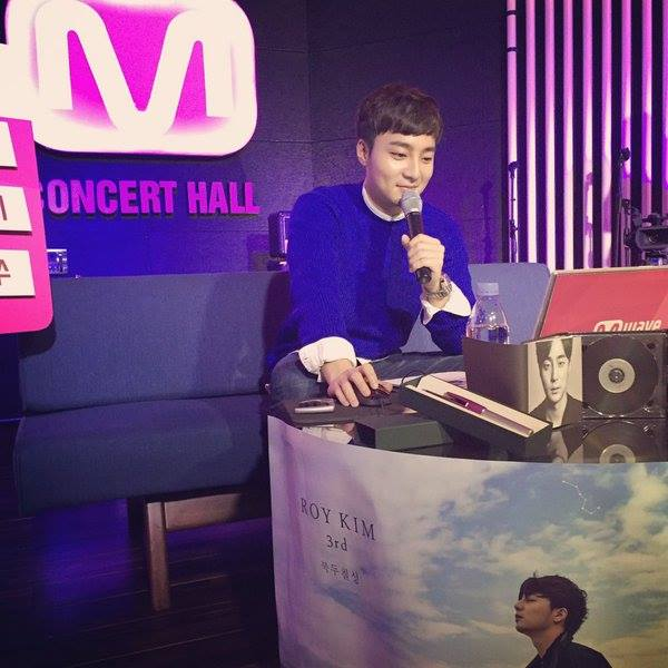 Roy Kim at Meet & Greet December 23, 2015 for his third album The Great Dipper
