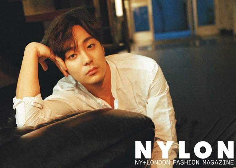Roy Kim on Nylon Korea magazine January 2016 issue