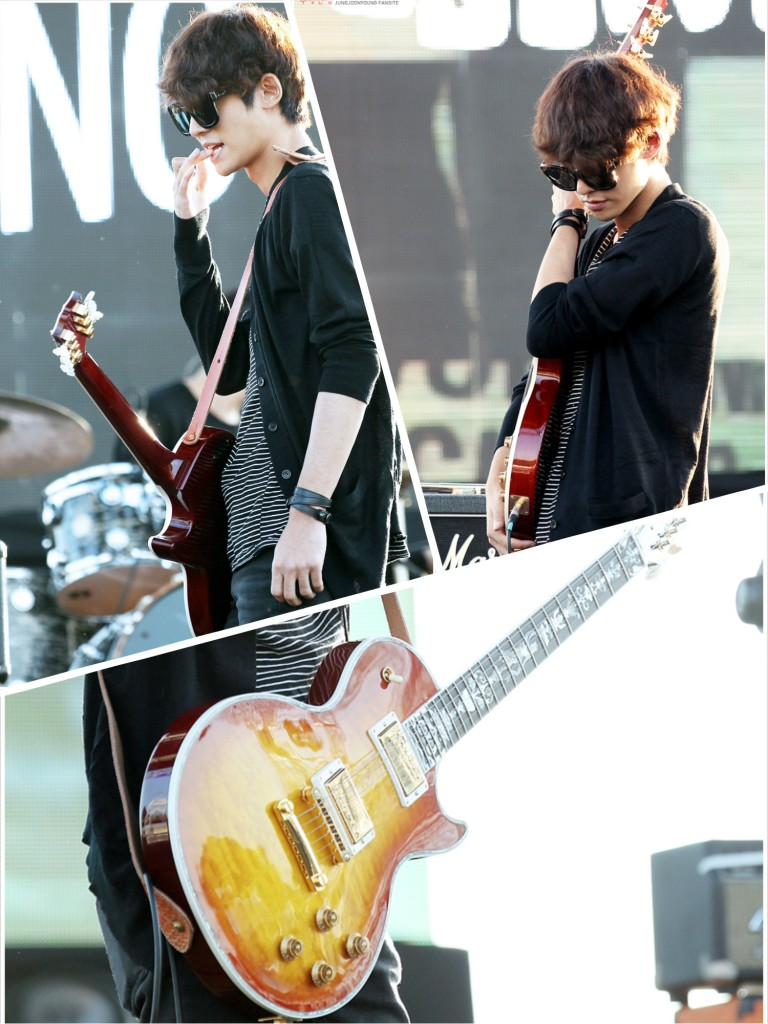 Jung Joon Young in let's rock festival Sep 2014