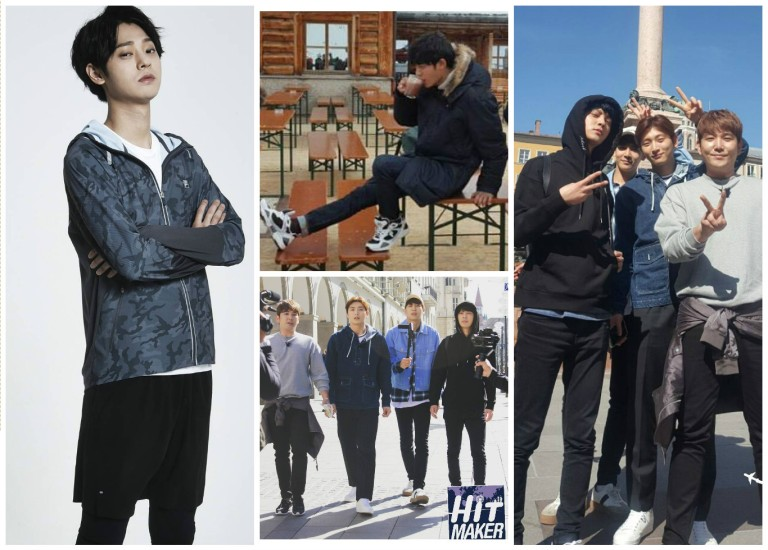 Jung Joon Young shooting HitMaker in Germany on April 2016
