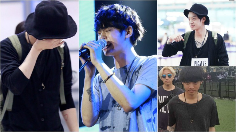 Jung Joon Young style at Spark Concert in Hanoi Vietnam on April 2016