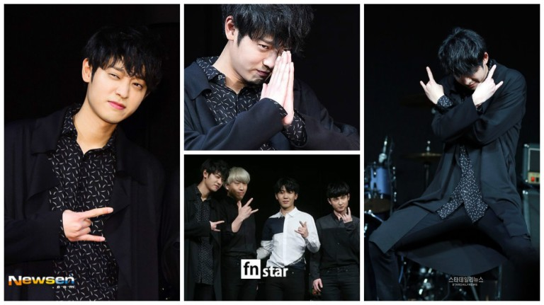 Jung Joon Young at showcase SYMPATHY on Febuary 24 2016