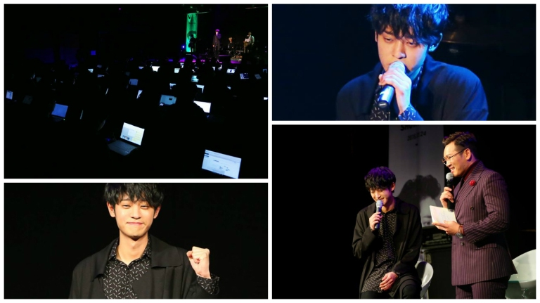 Jung Joon Young in showcase promoting single album SYMPATHY Feb 24 2016