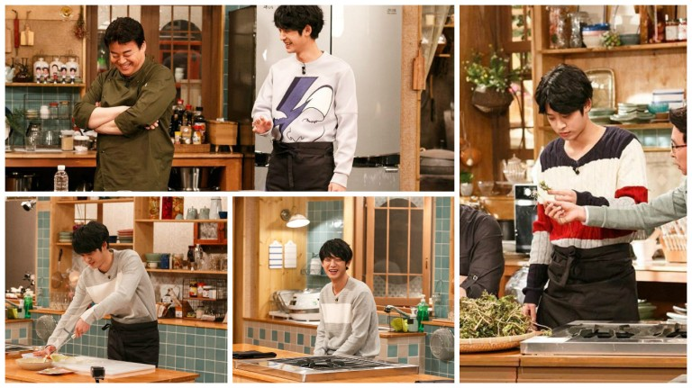 Jung Joon Young in House Cook Master Baek season 2 2016