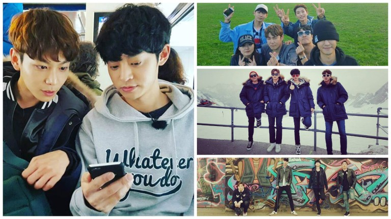 Jung Joon Young with Hit Maker team in Germany on April 2016