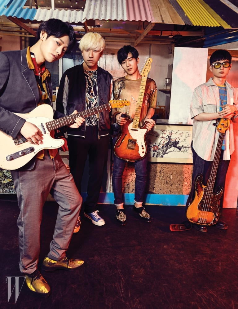 Jung Joon Young Band interview in W Korea Magazine May 2016