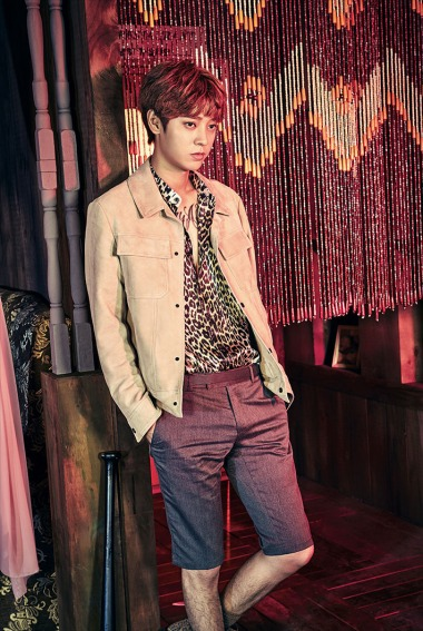 Vocalist Jung Joon Young of Drug Restaurant in official photo
