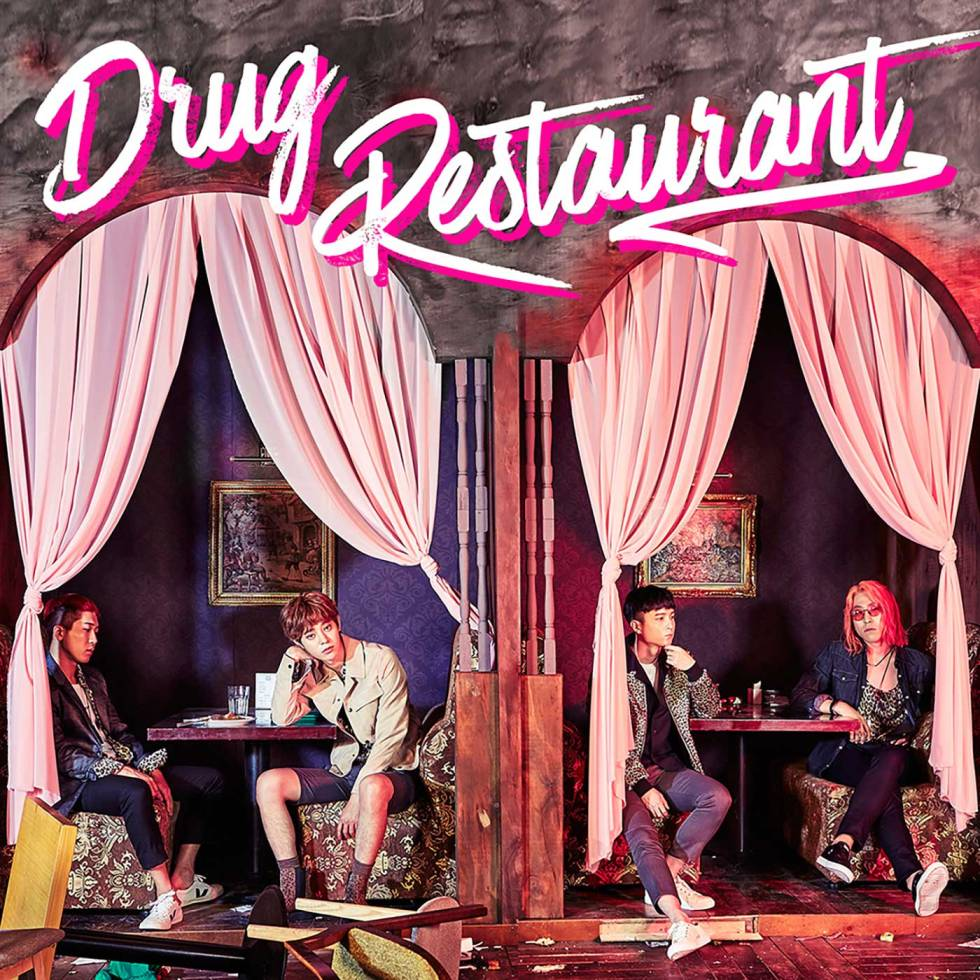 Jung Joon Young Band aka Drug Restaurant single album