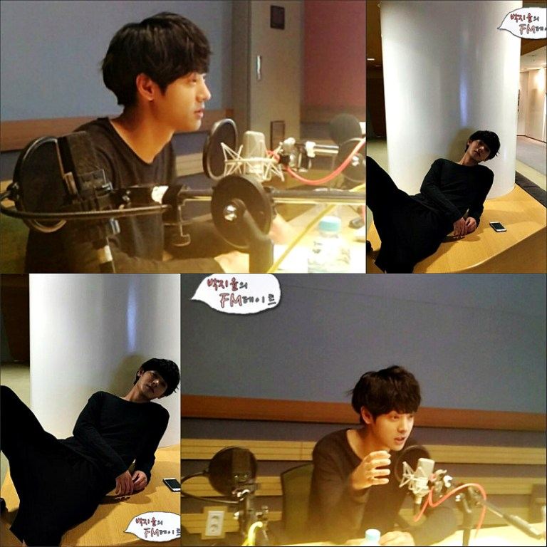 Jung Joon Young at MBC Park Ji Yoon's FM Date on April 2016