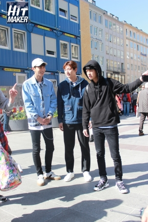 Jung Joon Young with team Hit Maker in Germany