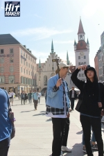 Jung Joon Young filming Hit Maker in Germany in April 2016