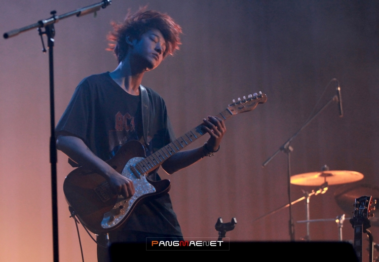 Jung Joon Young feeling the beat at Seoul Jazz Festival 2016