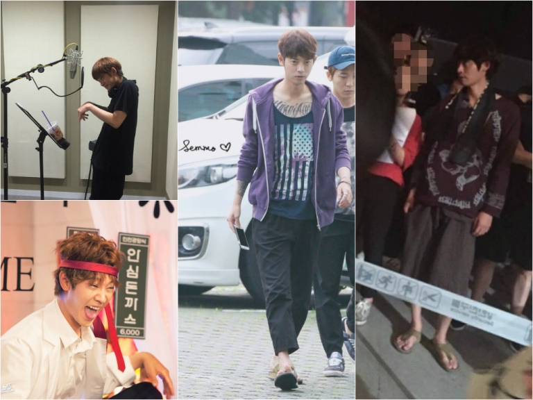 Jung Joon Young with his own style