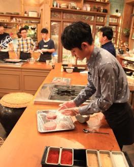 Chef Jung Joon Young at show House Cook Master Baek