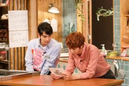 Jung Joon Young with Choi Tae Joon at House Cook Master Baek 2016