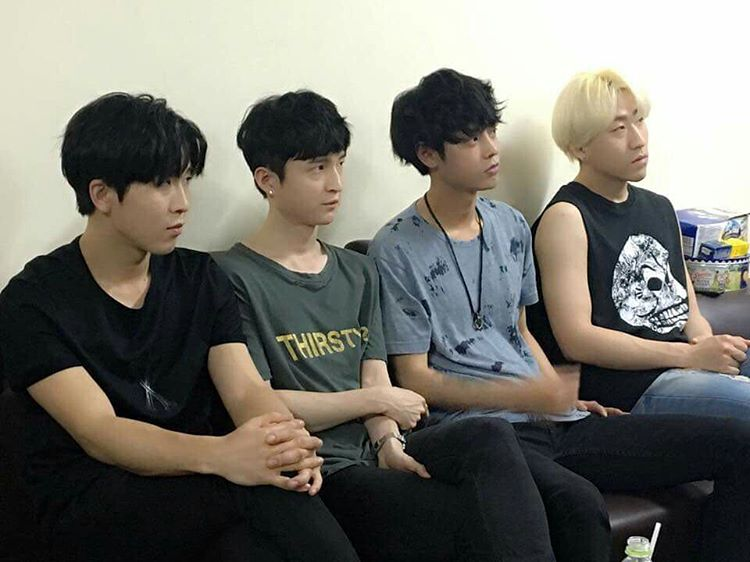 Jung Joon Young Band at Spark Concert in Hanoi in Vietnam on April 2016