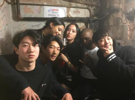 Jung Joon Young in Visions Video Bar, London on November 2016
