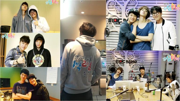 Jung Joon Young with Kim Joo Hyuk, Kim Jun Ho, Cha Tae Hyun and Kim Jong Min @ Simsimtapa