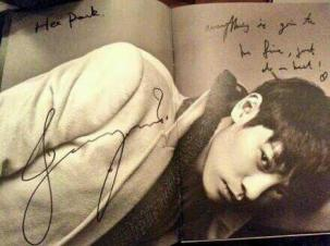 Jung Joon Young's message to fan