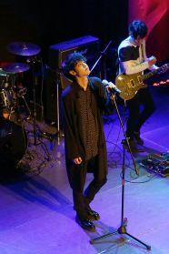 Jung Joon Young performing at his Sympathy showcase on Feb 24, 2016