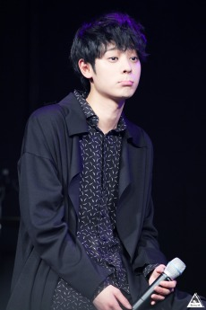 Jung Joon Young's cuteness at Sympathy showcase on Feb 24, 2016