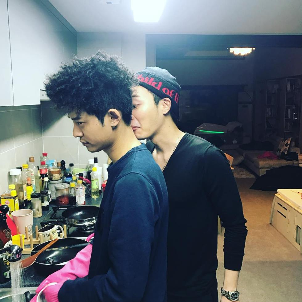 Jung Joon Young after Seollal 2017 party at Lee Jong Hyun's house