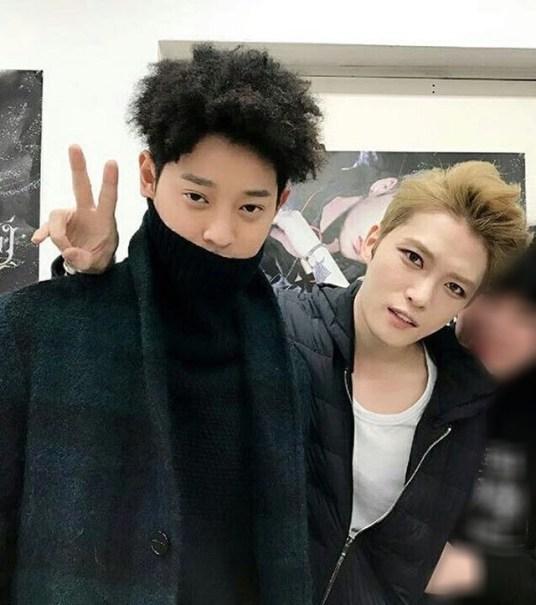 Jung Joon Young and Kim Jae Joong at '2017 Kim Jae Joong Asia Tour in Seoul'