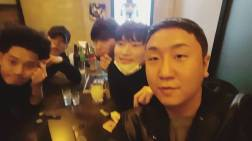 Jung Joon Young at 2017 New Year party with his friends