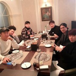 Jung Joon Young in 2017 New Year party with close friends