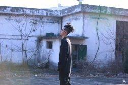 Pineapple Oppa Jung Joon Young in behind cut of album jacket on Jan 2017