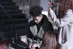 Behind cut of Jung Joon Young's solo album jacket on Jan 2017