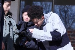 jung joon young at solo album jacket shooting in Jan 2017