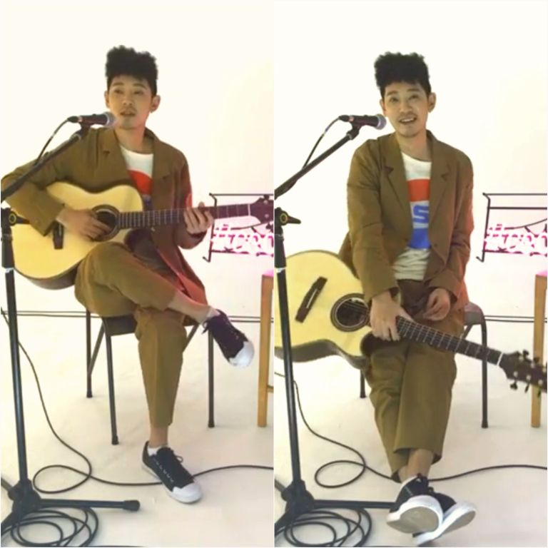 Jung Joon Young on Céci Live on January 10, 2017
