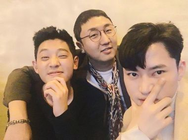 Jung Joon Young with his best friends at solo concert in Seoul 20170225