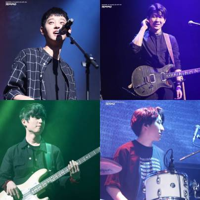Drug Restaurant band @ Jung Joon Young concert in Daejeon 20170312