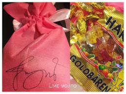 Candy box for fan at jung joon young's solo concert in Daegu in March 11 2017