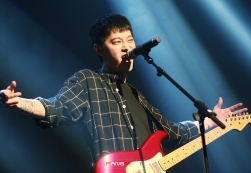 Jung Joon Young's expression at concert in daejeon 20170312