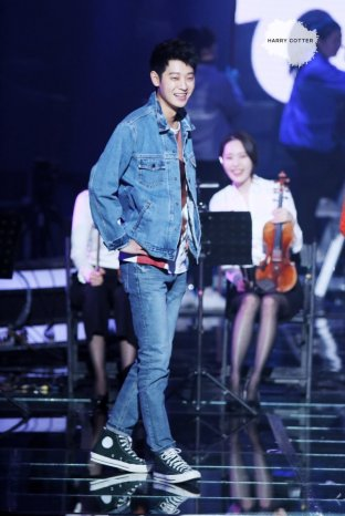 jung joon young on stage of Immortal Songs 20170327