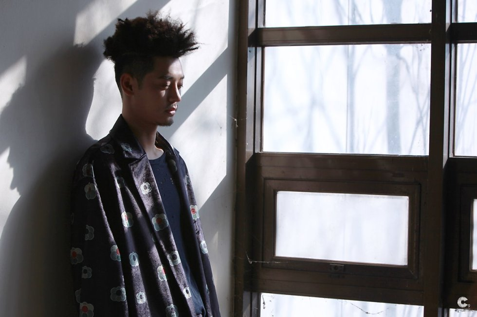 Jung Joon Young at his 'First Person' album jacket shooting 2017